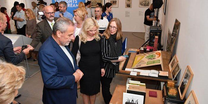 U Muzeju suvremene umjetnosti otvorena izložba Bogdana Bogdanovića