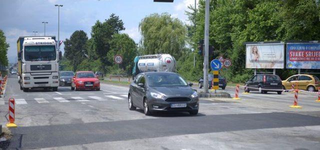 Otvorena Slavonska avenija, nakon završetka radova na izgradnji kolektora Čulinečka