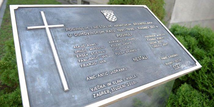 Položili vijence kod Spomenika poginulim i nestalim braniteljima – djelatnicima ZET-a