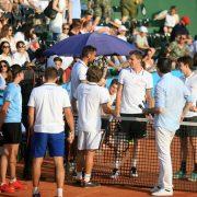 Je li itko Modriću, Mandži, Čiliću… rekao: Svaka vam čast?! Po najvećoj žegi igrali tenis za djecu u Tordincima