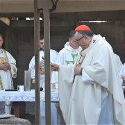 PLEHAN OŽIVIO: Sveta misa i blagoslov gradilišta novog franjevačkog samostana, stari je srušen 1992.