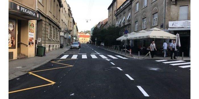 VIŠE MJESTA ZA INVALIDNE OSOBE: Završena obnova Vinogradske, koja je u subotu puštena u promet