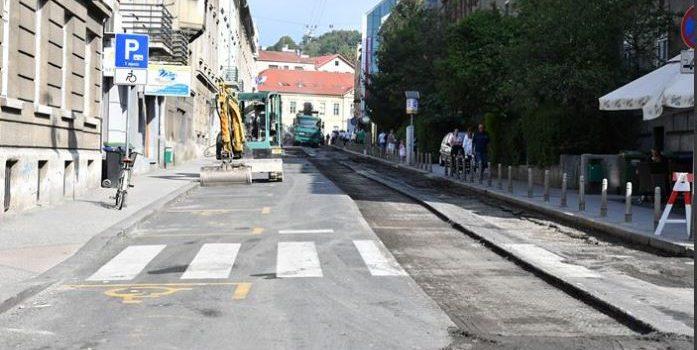 Započeli radovi na obnovi kolnika dijela VUKOVARSKE i VINOGRADSKE ulice