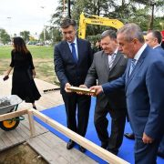 NOVA GRADSKA VRATA: Započela izgradnja Spomenika domovini – ispred Koncertne dvorane Lisinski