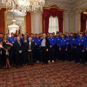 DINAMOVCI U DVERCU: Bandić obećao da će za dvije godine biti dovršen novi stadion na Sveticama, bez atletske staze