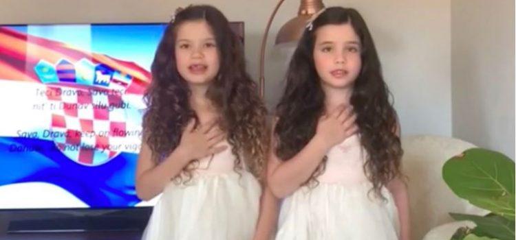 VIDEO: Lidia iz Pertha: Kako sam svoje djevojčice naučila pjevati HRVATSKU HIMNU