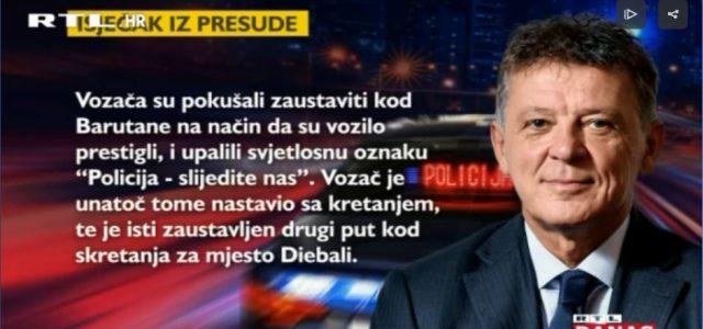 SUDAC TURUDIĆ LAŽE?! Pošta tvrdi: obavijesti o pozivu su mu dostavljene; u presudi stoji: BJEŽAO JE POLICIJI!