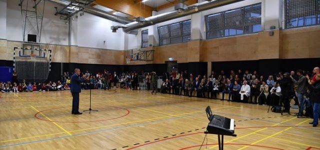 Otvorena nova sportska dvorana u obnovljenoj Osnovnoj školi Jabukovac