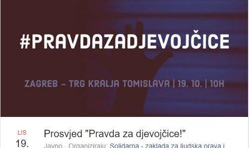 PROSVJED U ZAGREBU: Pozivaju građane na pobunu protiv sramotnog postupanja suca i cijelog SUDSTVA