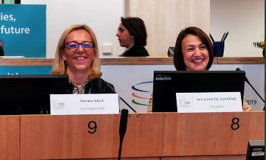 Izvrsnu aplikaciju PRISTUPAČNI ZAGREB zagrebačke djelatnice predstavile u Bruxellesu na Odboru regija