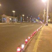 Paljenjem svijeća u Vukovarskoj, ispred ulaza u zgrade i na prozorima, Zagrepčani obilježili Dan sjećanja
