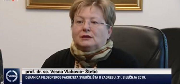 Sud presudio da je DEKANICA provodila MOBBING! Hrvatski sveučilišni sindikat traži ostavku Vesne Vlahović Štetić