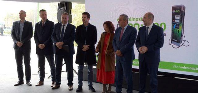 Na Trgu kralja Tomislava u rad puštena 100. ELEN punionica u Hrvatskoj te deseta u Zagrebu