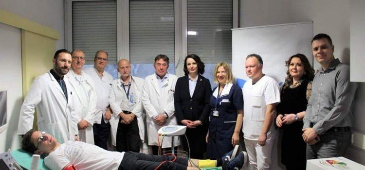 NOGA GLAVU ČUVA: Grad Zagreb kupio KBC-u uređaj koji rano otkriva bolest koja uzrokuje amputacije nogu