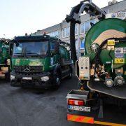 Vodoopskrba i odvodnja dobila šest NOVIH VOZILA za čišćenje kanalizacije i slivnika