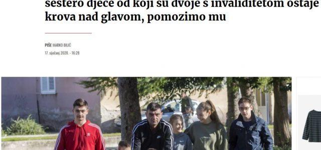 PODIJELIMO OVO: Nakon smrti supruge, sam brine o šestero djece – dvoje s invaliditetom, a tjeraju ih NA CESTU!