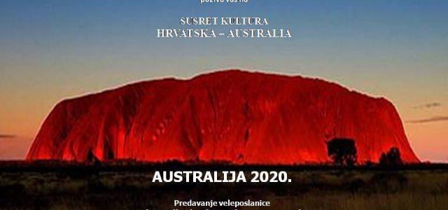 SUSRET KULTURA HRVATSKA-AUSTRALIJA: Australski film, predavanje veleposlanice i izložba