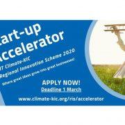 UBRZAVANJE STARUPOVA: Za klimatski orijentirano inovativno rješenje – 50.000 eura