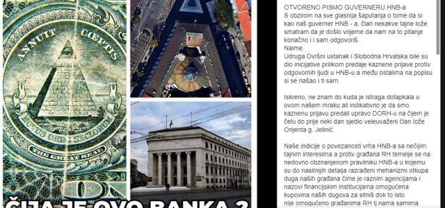 """""""LEŠINARIMA"""" ZA SIĆU OTKUP DUGA GRAĐANA! Je li i guverner Vujčić član neke tajne lože?"""
