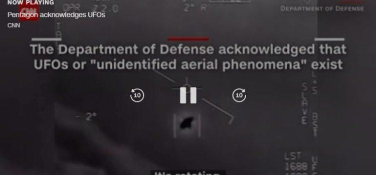 """""""POSTOJE DOKAZI DA NISMO SAMI"""" CNN: Pentagon službeno potvrdio da su snimke NLO-a autentične!"""