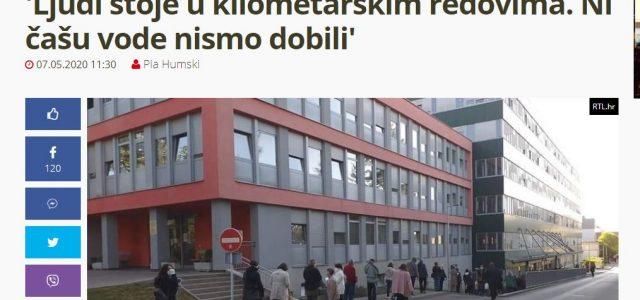 """""""TEŠKO BOLESNI STOJE u kilometarskim redovima ispred Rebra! Ni čašu vode, ni stolicu nismo dobili"""""""