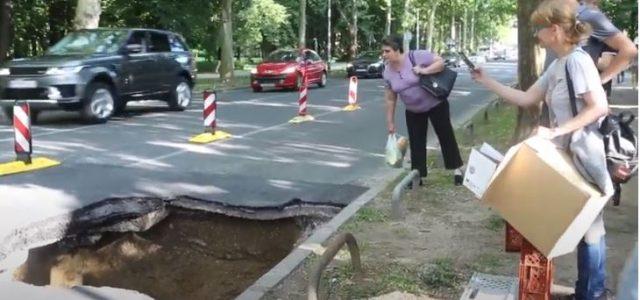 ČUČERSKA PA BUKOVAČKA: Rupetine koje se iznenada otvaraju na cesti postale uobičajena pojava