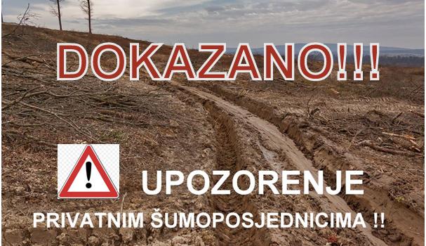 """""""OTIMAJU TUĐU ZEMLJU: Imamo dokaze da su se Hrvatske šume upisale na tuđe privatno vlasništvo!"""""""