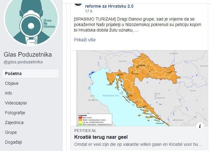 """ŠTO SE ČEKA?! Dok Vlada i HTZ """"spavaju"""", sami pokrenuli peticiju u Nizozemskoj da Hrvatskoj vrati žutu oznaku"""
