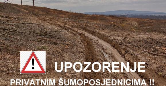 """Zeleni odred upozorava VLASNIKE ŠUMA da provjere """"jesu li Hrvatske šume prodale njihov posjed""""?!"""