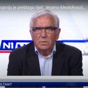 """""""U Hrvatskoj imamo VLADAVINU LOPOVA; država postoji da bi se političari bogatili kradući od naroda!"""""""