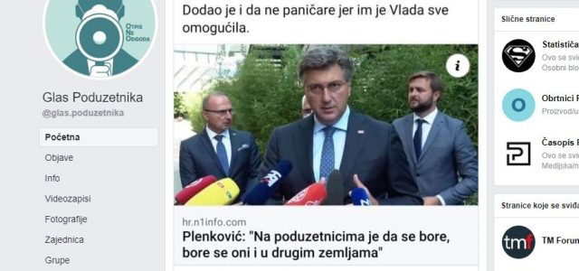 Bujas Plenkoviću: Niste vi političari nama omogućili ništa, sve što imate omogućili smo MI VAMA!