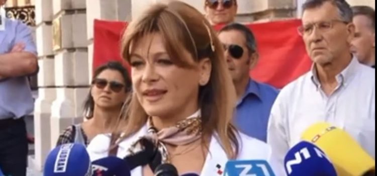 Krišto: G. Plenkoviću, radikalna sam u zahtjevu da se korumpirane političare izbaci iz javnog života