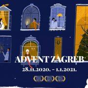 Paljenjem prve adventske svijeće, u subotu započinje Advent u Zagrebu uz epidemiološke mjere