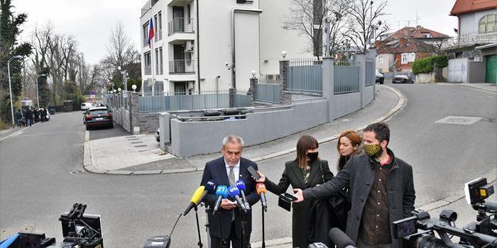 I ruski ministar vanjskih poslova Lavrov na otvorenju nove zgrade ruskog Veleposlanstva u Zagrebu