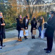 Na Dan Australije učenice 2.a razreda IV. gimnazije postale su posvojiteljice mladog močvarnog valabija