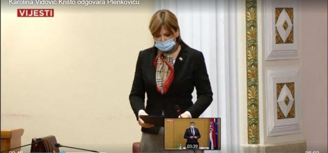Krišto Plenkoviću: Arogancija prati karakterno nestabilne; Vaše pravosuđe je prožeto udbaškom državom