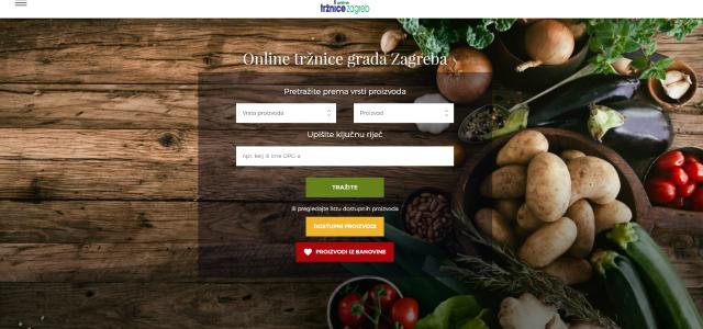 POMOĆ STRADALOM PODRUČJU: Proizvodi iz Banovine dostupni na Online tržnici Grada Zagreba
