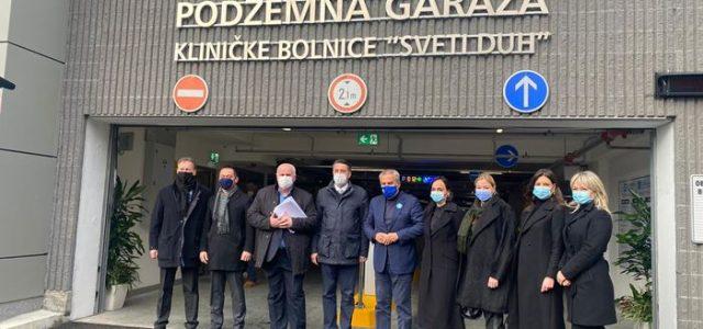 Na Svetom Duhu otvorena deseta javna garaža u Zagrebu s 477 parkirnih mjesta