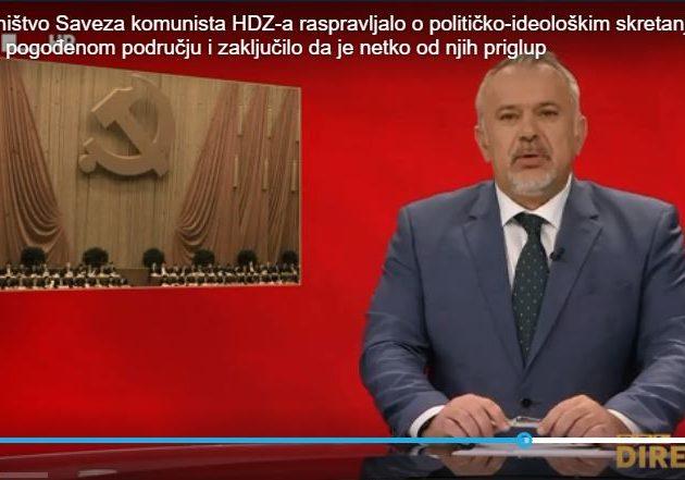 """""""Drug Jandroković priznao da je netko u HDZ-u priglup; posebno se istaknuli drugarica Šuica te drug Šeks"""""""