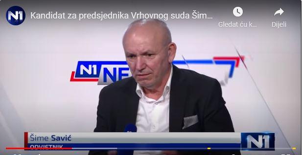 Udruge i žrtve pravosuđa: 'Čestiti dr. Savić, a ne aferama obilježeni Sessa, trebao bi voditi Vrhovni sud!'