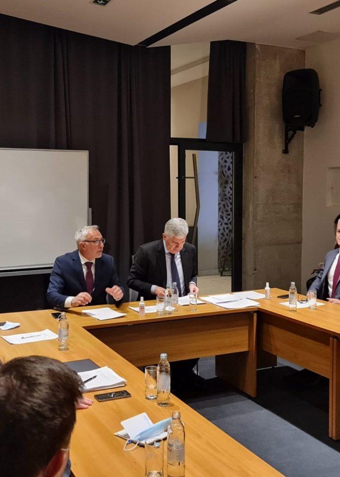 Državni tajnik Milas zahvalio predstavnicima Hrvata u BiH na pomoći u obnovi petrinjske škole