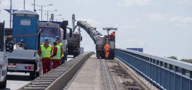 Započeli radovi izvanrednog održavanja na Domovinskom mostu; zatvorena po jedna traka u oba smjera