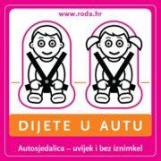 U Hrvatskoj tek mali broj ljudi pravilno koristi autosjedalice